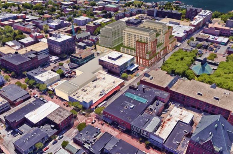 The After: Mixed-Use Redevelopment